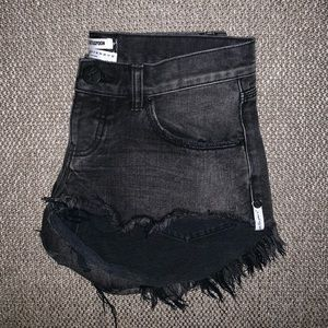 One Teaspoon Bonita's cutoff shorts